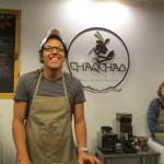 Annika auf Schokoladenworkshop in Arequipa
