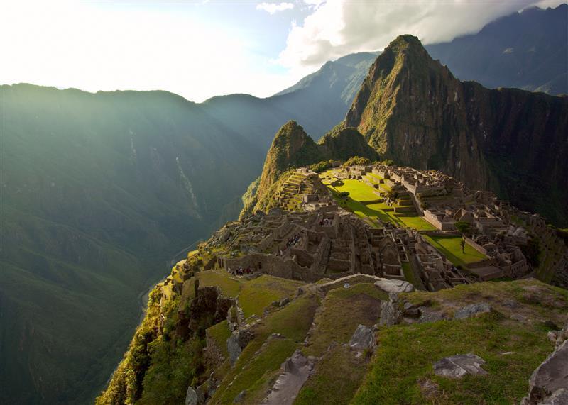 Das Ziel der langen Reise: Machu Picchu