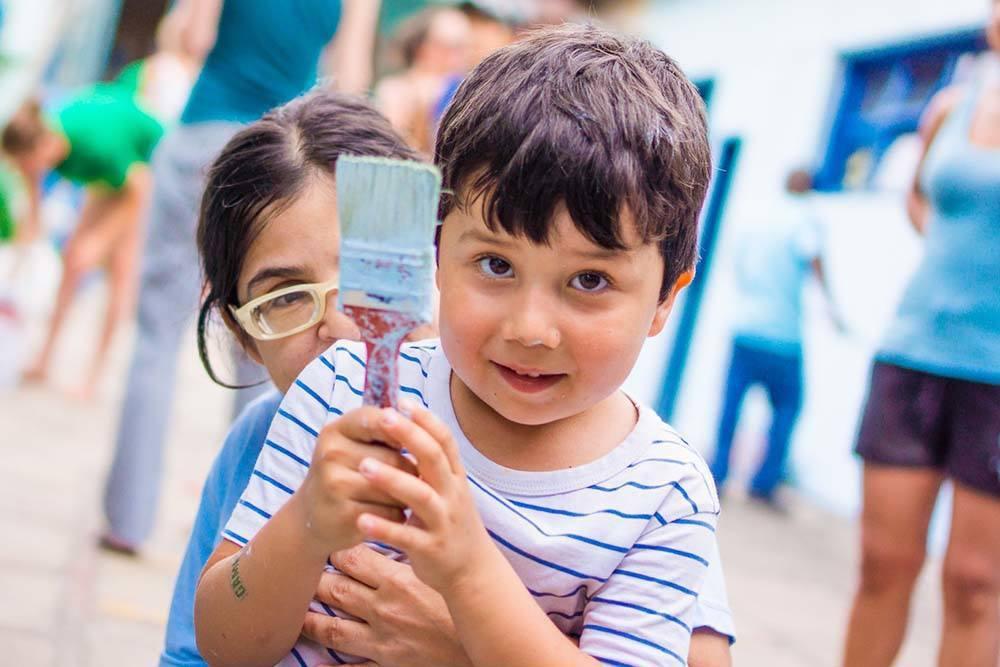 Dia social en la fundacion APAE, Arraial do Cabo (100 of 111)