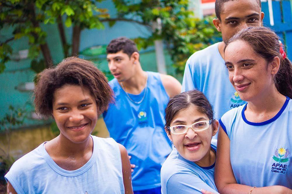Dia social en la fundacion APAE, Arraial do Cabo (90 of 111)