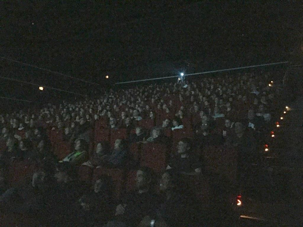 ... und zu guter letzt: 400 Leute im CinemaXx in Berlin!