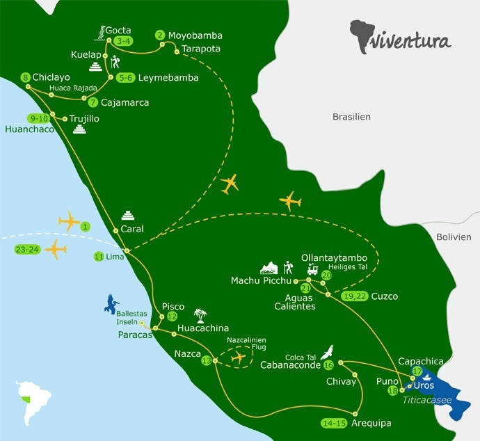 Abenteuer-Reise durch Peru: Die viExplorer Peru