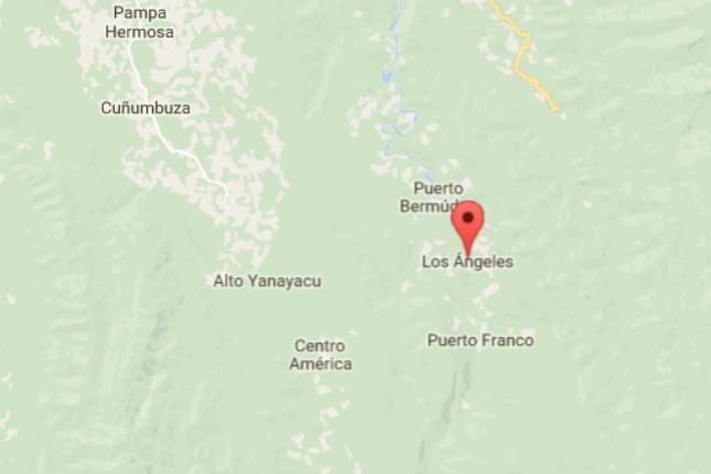 Mitten im Nirgendwo kann man in Peru einmal mehr zwischen den Hausansammlungen von Centro America und Los Angeles wählen.