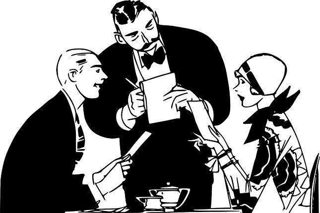 """Situation im Restaurant: Die Rechnung beinhaltet meist schon das Servicegeld für die Bedienung. Trotzdem sollte man zusätzliches """"gorjeta"""" geben (etwa 10%)."""