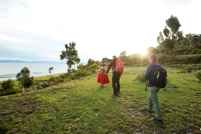 Auf der Halbinsel Capachica übernachten viventura-Reisende bei Einheimischen daheim.