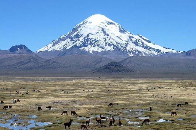 Sajama Vulkan