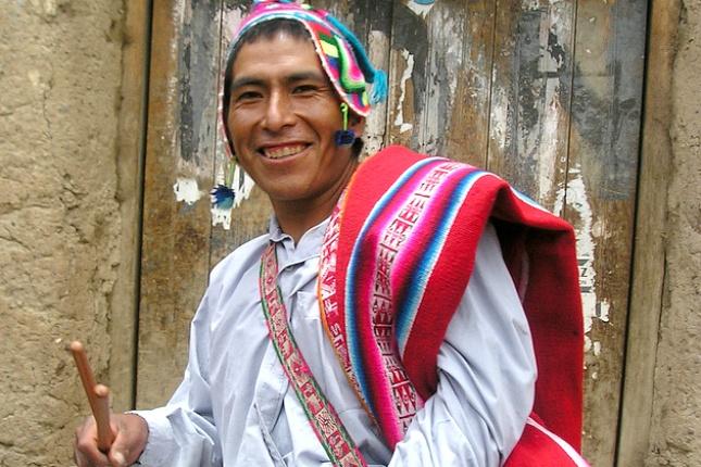 In keinem anderen südamerikanischen Land ist der Anteil der indigenen Bevölkerung so hoch wie in Bolivien.